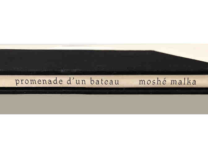 "Artist's book/portfolio ""promenade d'un batteau"" by Moshe Malka - Photo 2"