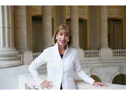 Lunch With Congresswoman Jackie Speier on Capitol Hill