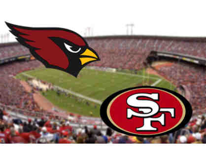 San Francisco 49ers vs. Arizona Cardinals (Parking Included)
