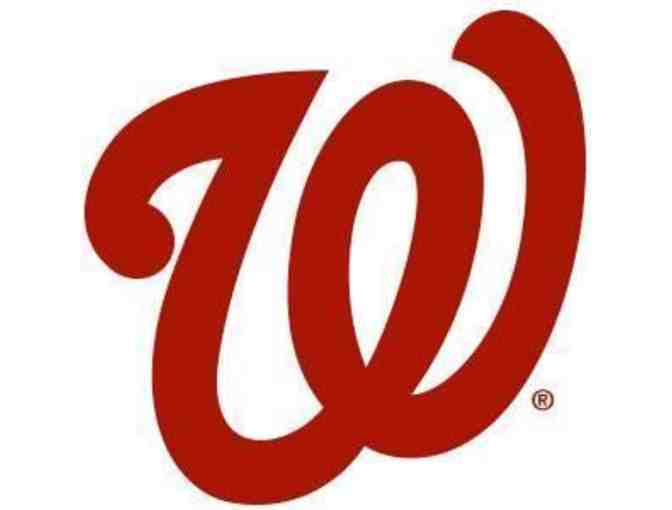 2 Diamond Club Baseball Tickets Nationals vs. Kansas City Royals - Sunday, July 7 - Photo 1