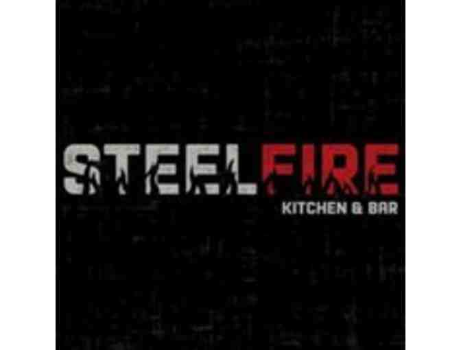 $25 Gift Card SteelFire Kitchen and Bar + 2 Passes to AMC Theaters - Fulton / Columbia, MD - Photo 1