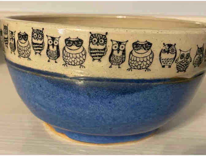 Handmade Owl Bowl (one of a kind) - Photo 1