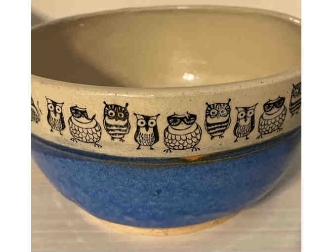 Handmade Owl Bowl (one of a kind) - Photo 2