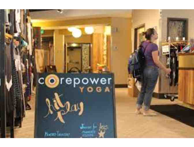 1 Month of Unlimited Yoga at any CorePower Yoga Location