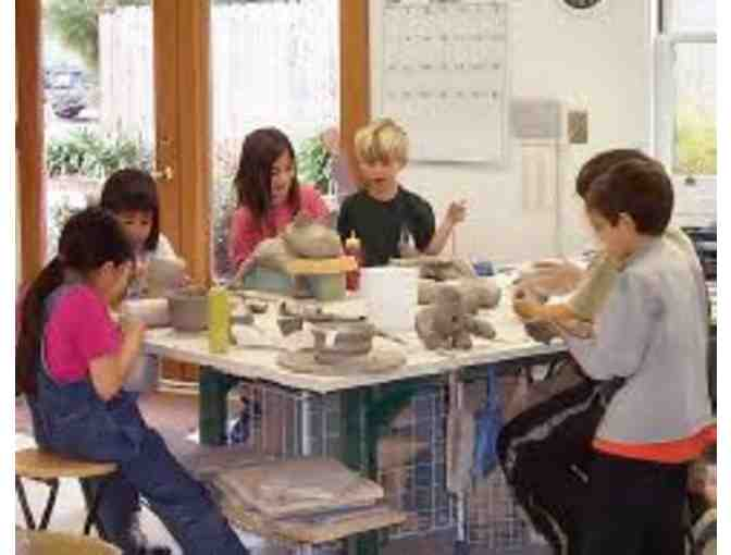 1 Wet Clay Class at Kids 'N' Clay Pottery Studio