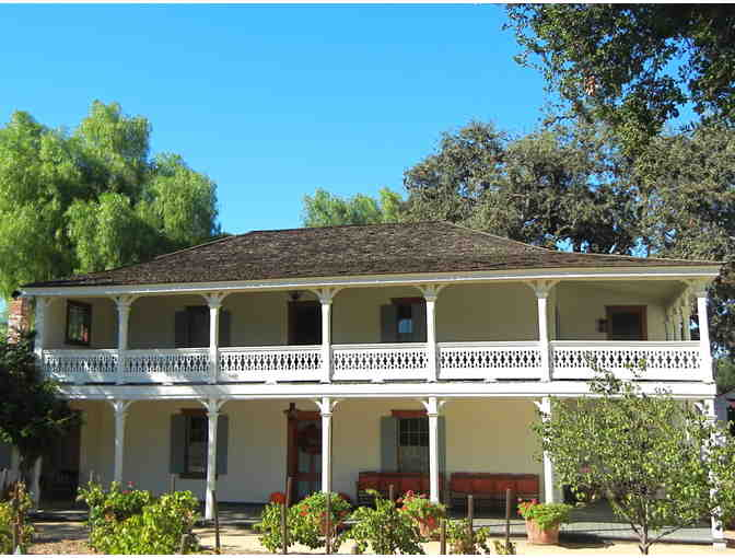 1 Year Membership for the Leonis Adobe Museum