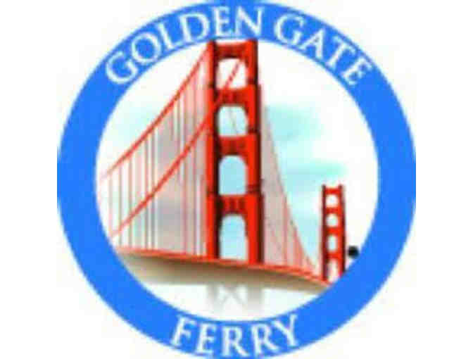 20 One-Way Ferry Tickets on the Golden Gate Ferry