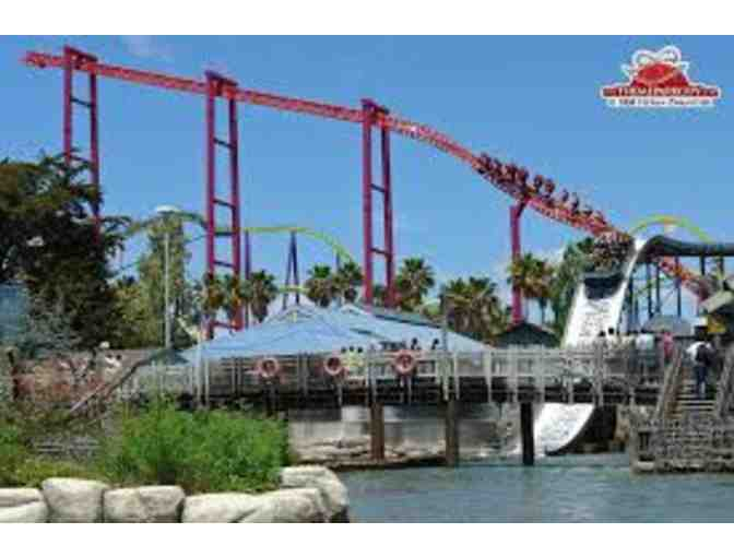 2 One-Day Admission Tickets to Six Flags Discovery Kingdom