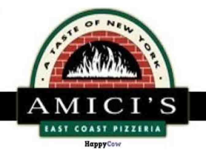 Large Piza at Amici's East Coast Pizzeria