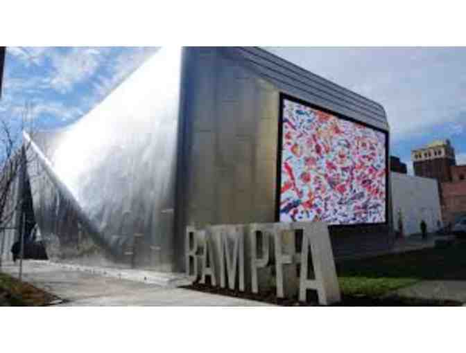 2 Admission tickets for BAMPFA at UC Berkeley