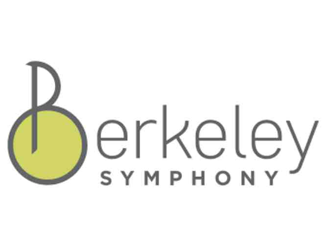 2 Tickets to a Berkeley Symphony Concert