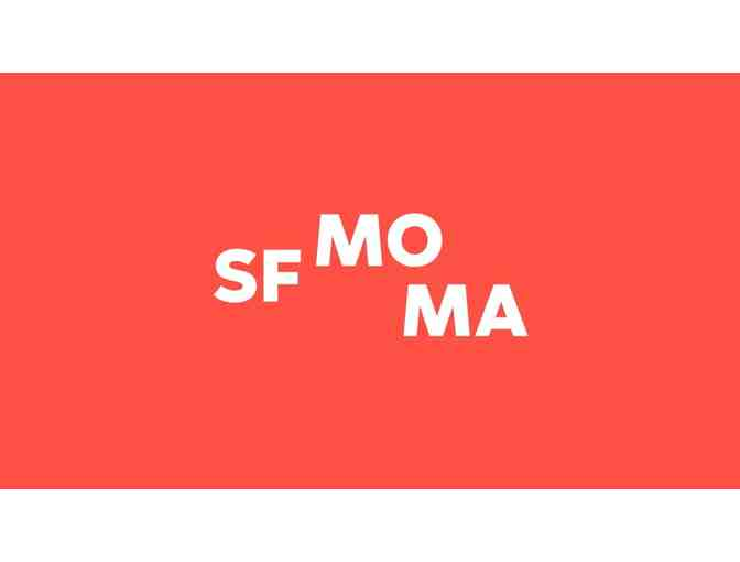 Two guest passes to the San Francisco Museum of Modern Art