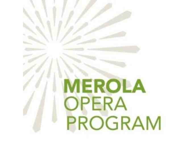 2 Tickets to the Merola Opera Program