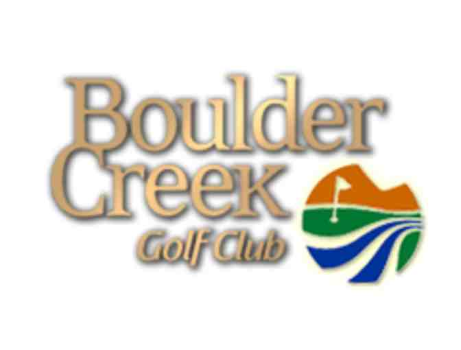 One Round of Golf or two players at Boulder Creek Golf and Country Club