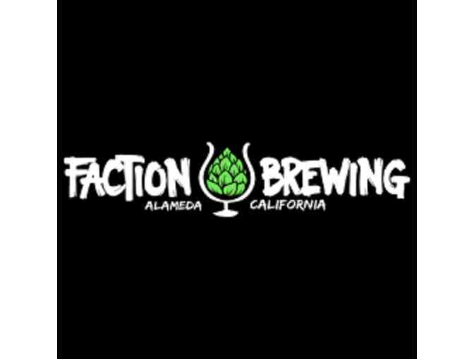Gift Certificate for Faction Brewing