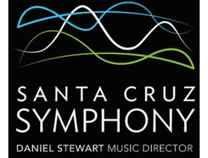 Gift Certificate for two tickets to a Santa Cruz Symphony performance in Santa Cruz.