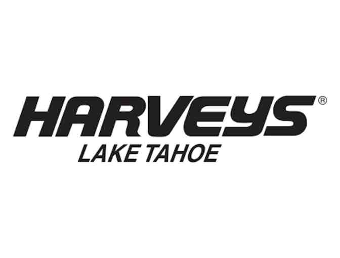 One night stay at Harveys Resort in Lake Tahoe and two tickets for improv show.
