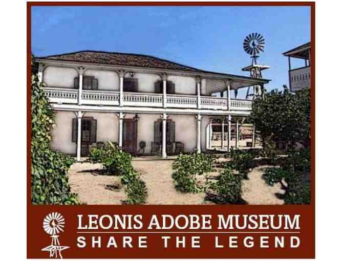 1 Year Membership for the Leonis Adobe Museum - Photo 1