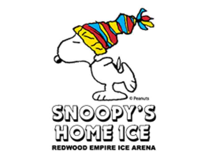 4 Admissions with Skate Rentals to Snoopy's Home Ice - Photo 1