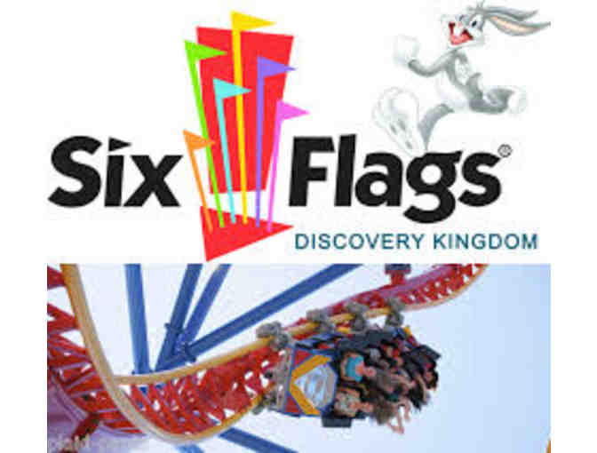 2 One-Day Admission Tickets to Six Flags Discovery Kingdom - Photo 1