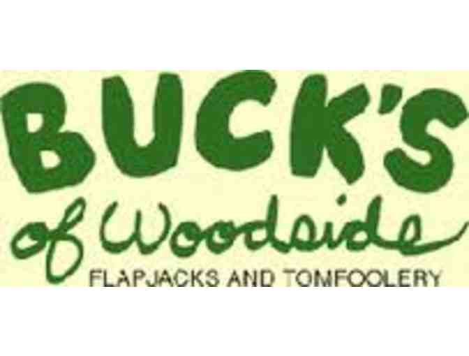 $35 Gift Certificate for Bucks of Woodside