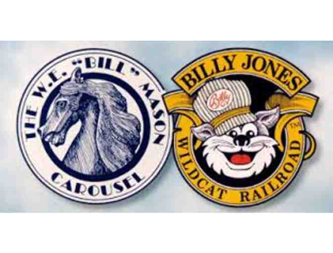 2 Gift Cards worth 10 Tickets Each for The Billy Jones Wildcat Railroad - Photo 1