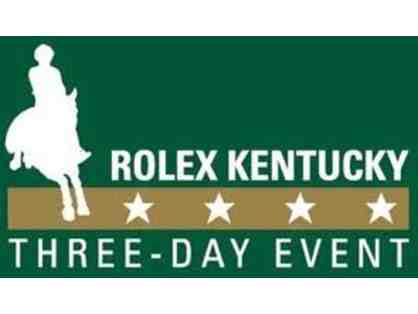 2 - 2017 Rolex Kentucky 3 Day Event General Admission Packages