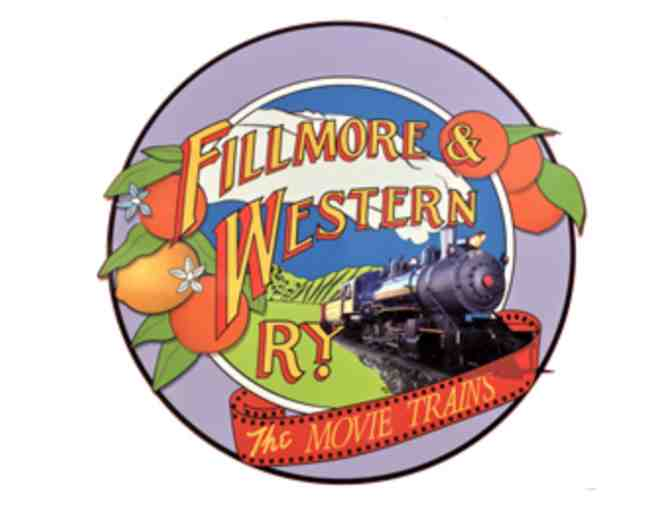 Fillmore & Western Railway in Fillmore, CA - Family Weekend Scenic Excursion for 4