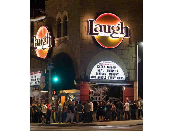 Laugh Factory in Hollywood - 4 Tickets