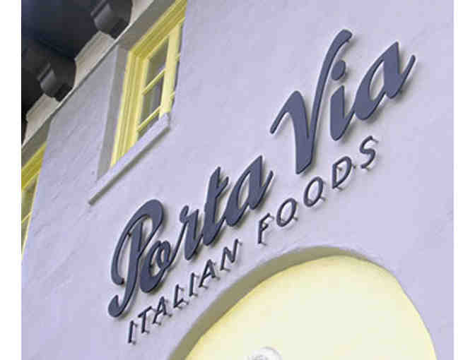 Porta Via Italian Food in Pasadena - $50 Gift Card