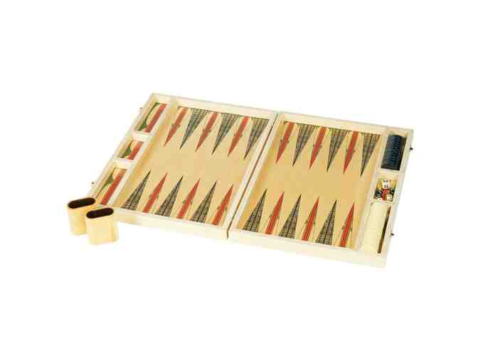 One-Of-A-Kind Backgammon Board from Wolfum