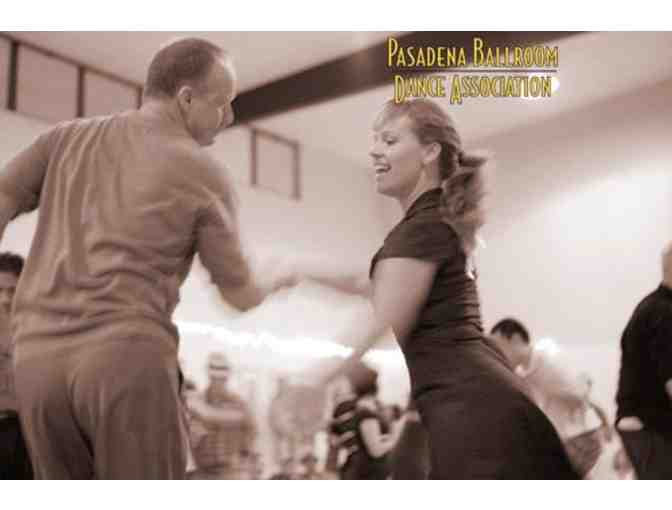 Pasadena Ballroom Dance Association in Pasadena - 6 Weeks of Classes for 2