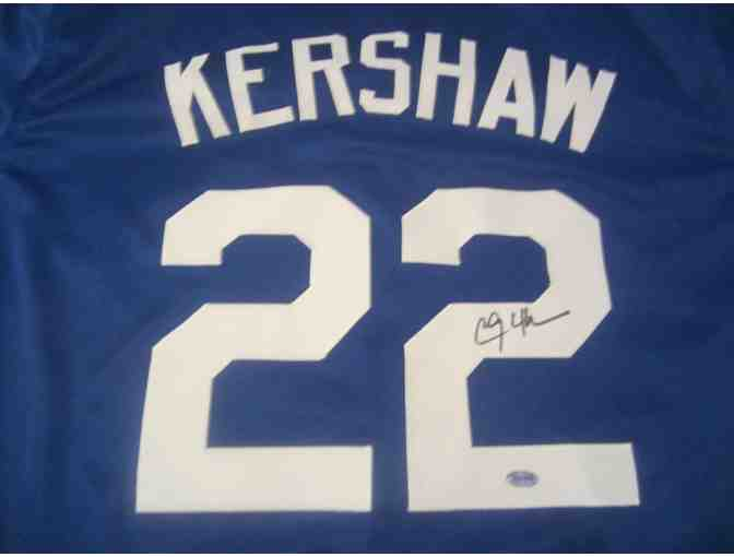 Clayton Kershaw Los Angeles Dodgers Signed Jersey