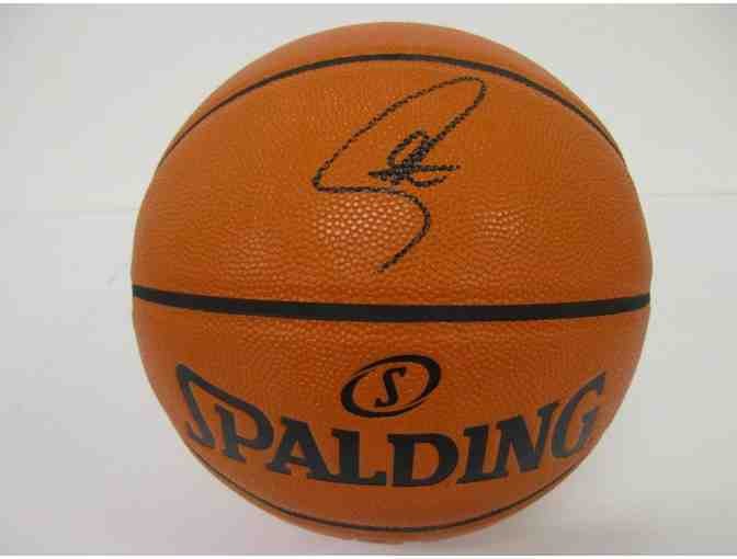 Stephen Curry Golden State Signed Basketball