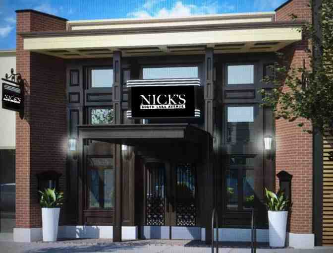 Nick's South Lake Avenue in Pasadena - $100 Gift Card