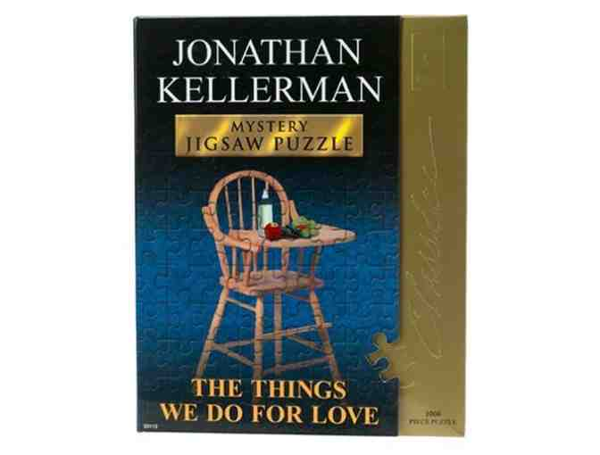 Jonathan Kellerman Mystery Jigsaw Puzzle 'The Things We Do for Love' 1000pcs