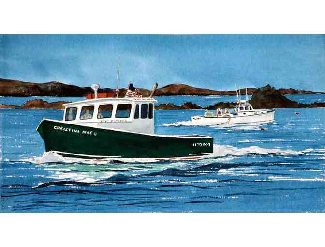 Lobster Boat Ride to Appledore or Star Island