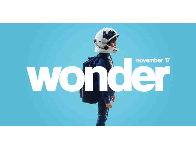 Wonder Movie Party Book!