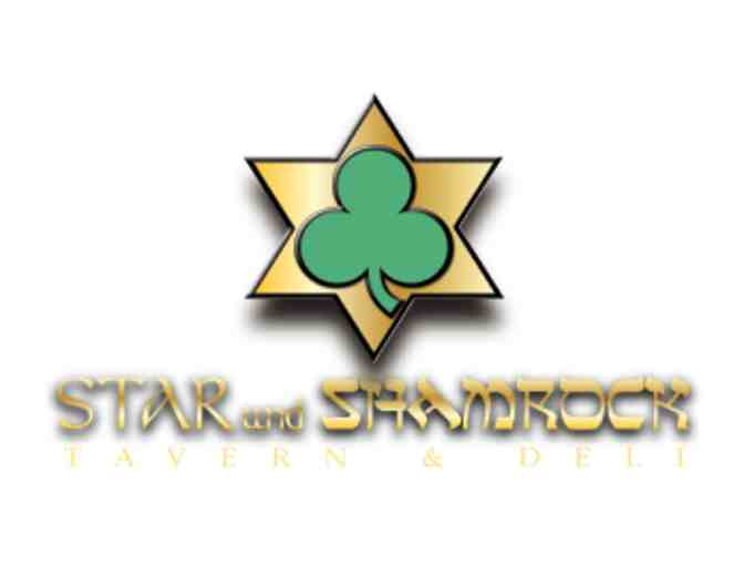 Star and Shamrock $50 Gift Card
