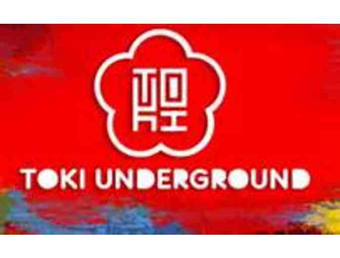 Toki Underground - Reservation and Chef's Table for Two