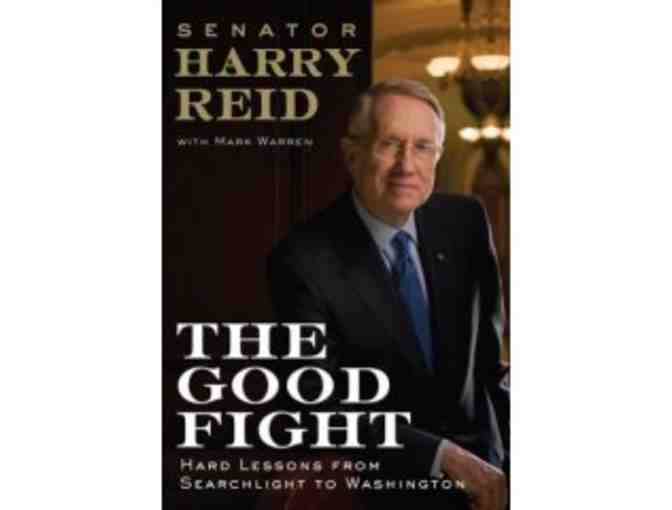 Signed book by Harry Reid - 'The Good Fight'