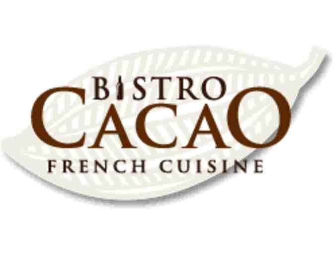 Bistro Cacao $50 Gift Certificate