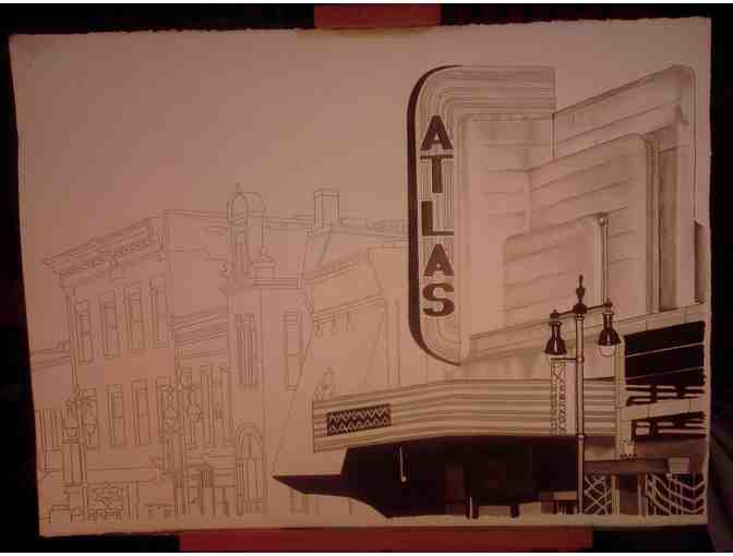 Original Art of the Atlas Theatre
