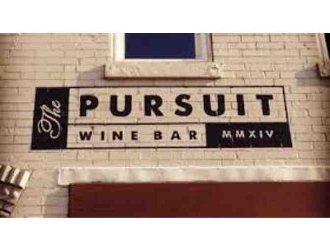 The Pursuit Wine and Bar Wine and Food