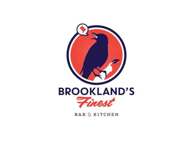 Brookland's Finest Bar and Kitchen Reservation and Chef's Tasting Table for Two
