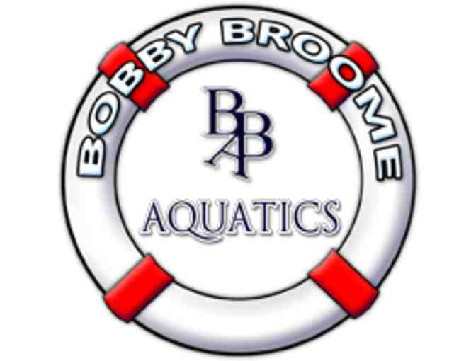 Swimming Lessons with Bobby Broome Aquatics