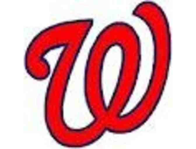 Two Tickets to a 2016 Washington Nationals Game