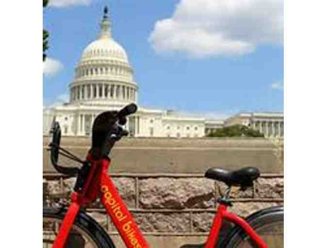 Capital Hill Bikeshare Memberships