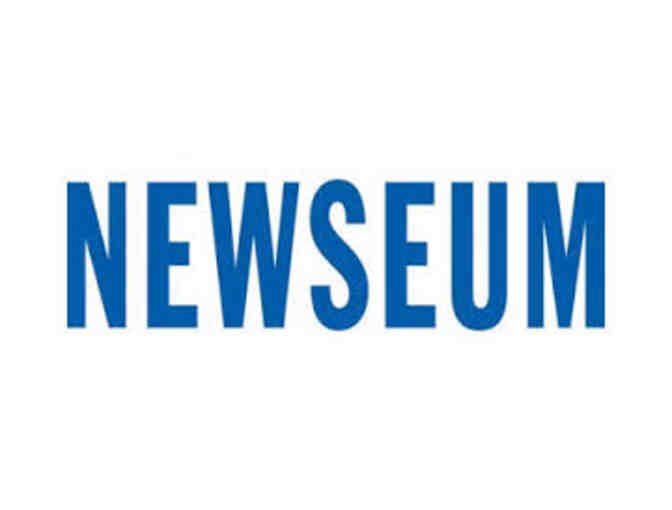 Two Adult Newseum Tickets