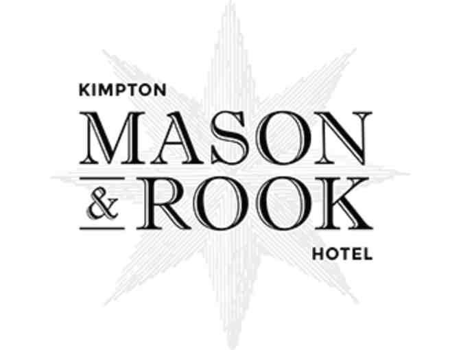 One Night on a Weekend Stay at New Kimpton Mason and Rook Hotel